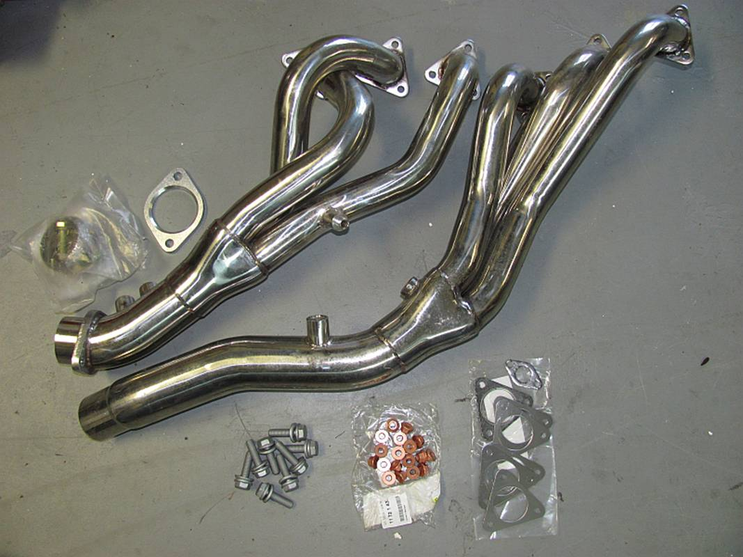 Bmw Z4 M Coupe Installing Headers
