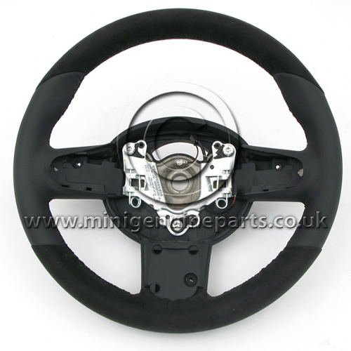 JCW Sports Steering Wheel - Alcantara - R50/R53