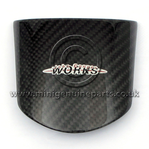JCW Carbon Fibre Steering Wheel Cover - Centre - R50/R53