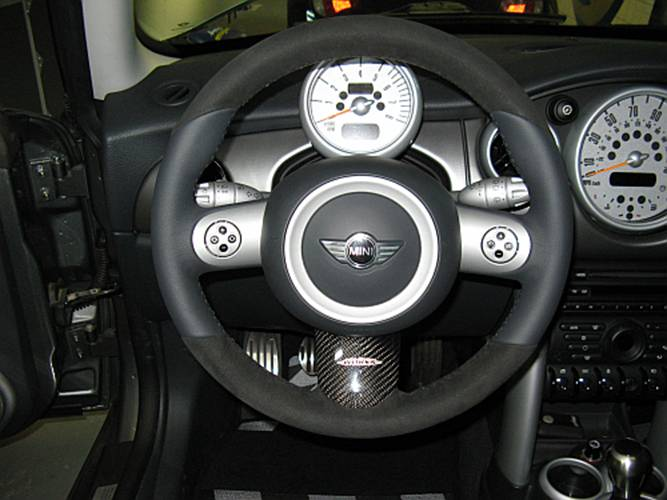 mini cooper steering wheel wiring harness mini cooper s (r53): jcw steering wheel installation