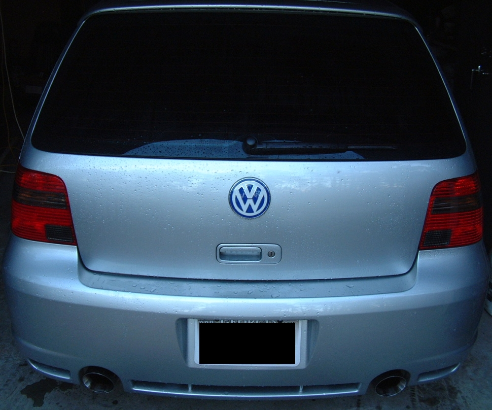 Vwvortex Com Euro Beetle Emblem On My R32
