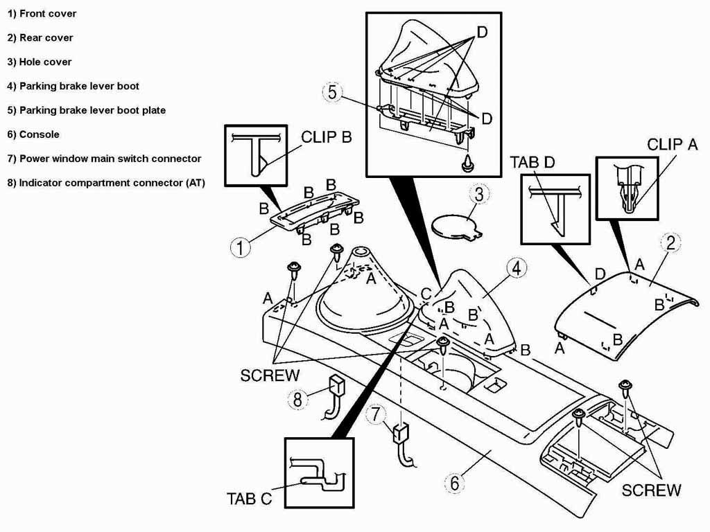 mazda car front suspension diagram html