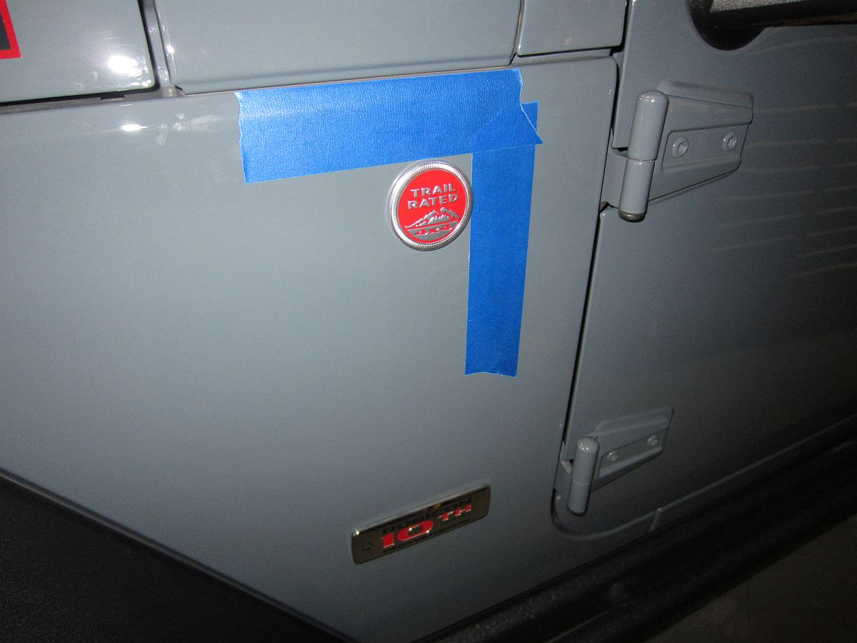 I also installed some rugged ridge grab handles in red p for Hillside elevator kit
