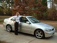 2002 Lexus IS300- 5 Speed